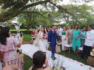 El matrimonio de Mayra  y Germán