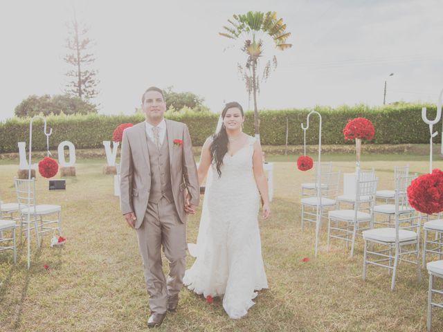 El matrimonio de Angela y Rubén