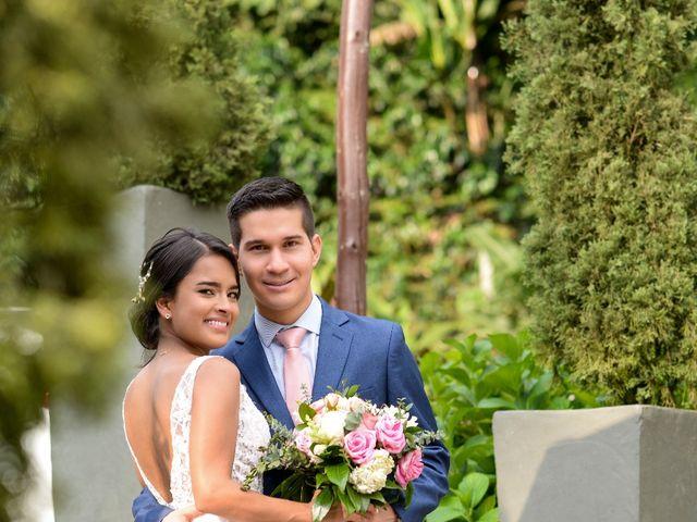 El matrimonio de Diego y Ginna