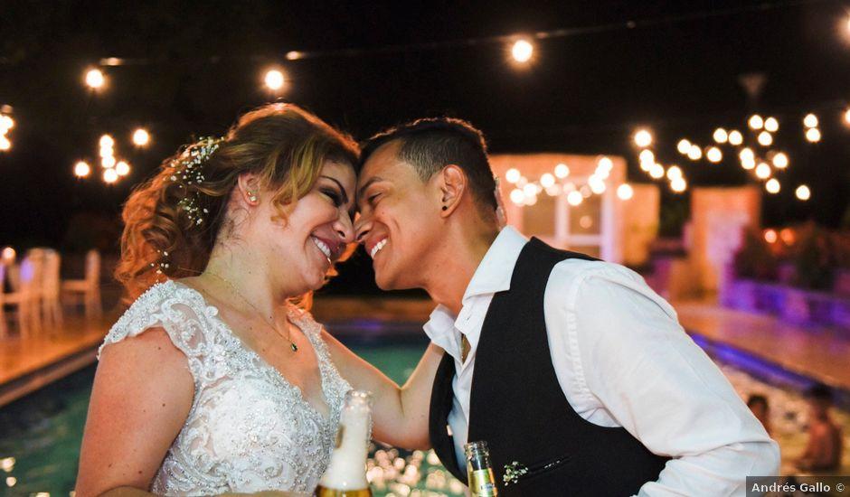 El matrimonio de eddy y lorena en San Jerónimo, Antioquia