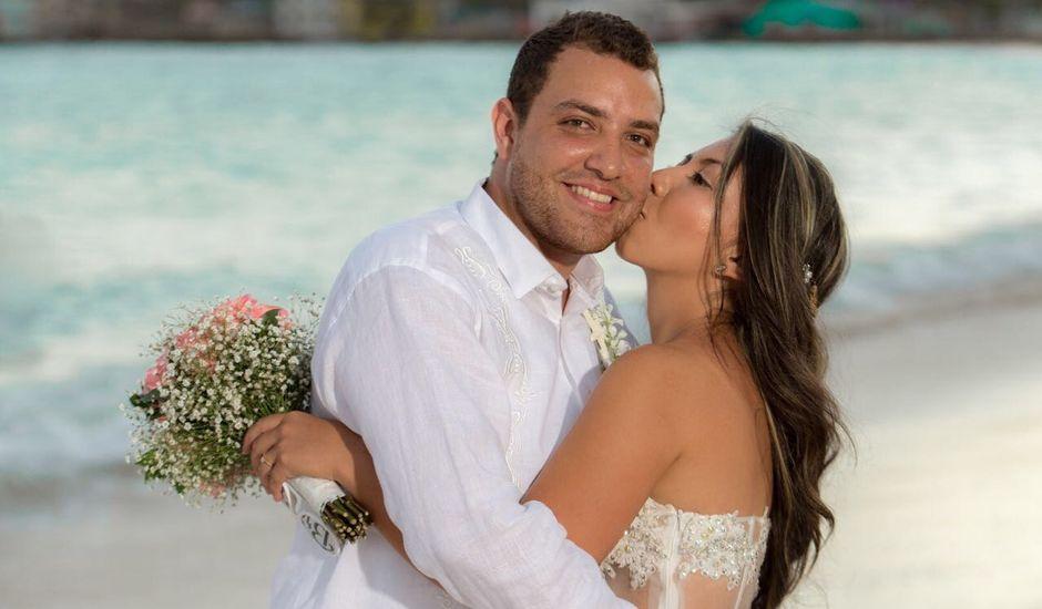El matrimonio de William y Alejandra  en San Andrés, Archipiélago de San Andrés