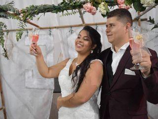 El matrimonio de Jefferson y Melissa