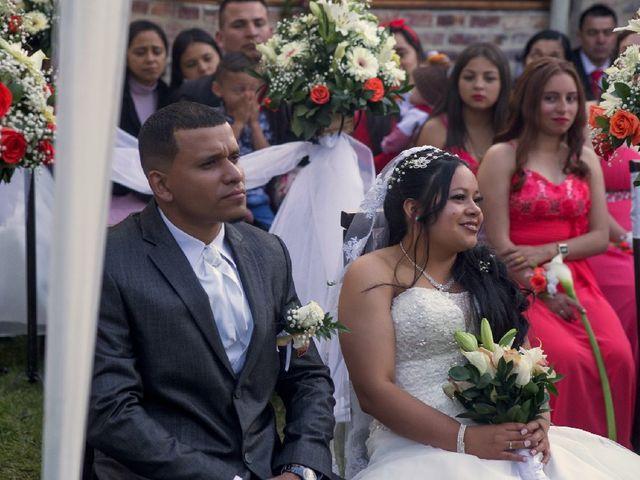 El matrimonio de Rodrigo  y Luz  en Madrid, Cundinamarca 32