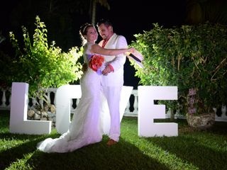 El matrimonio de Margarita y Alexander