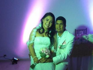 El matrimonio de José y Marlene
