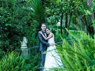 El matrimonio de Angélica y Sergio
