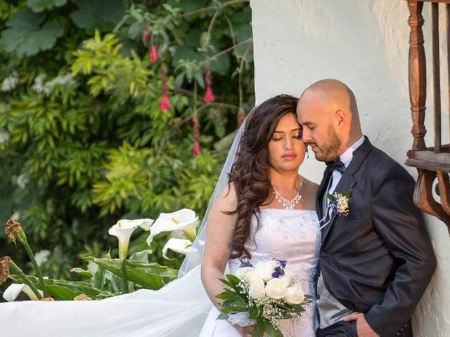 El matrimonio de Mariana  y David