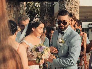 El matrimonio de María Fernanda  y Juan Carlos