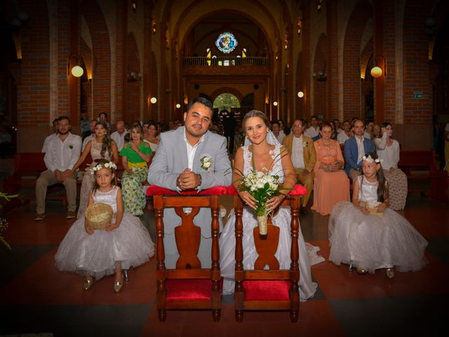 El matrimonio de Johana y Manuel Alejandro