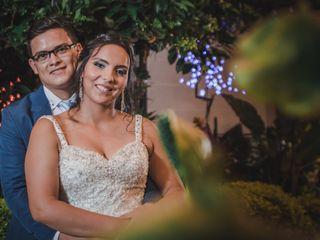 El matrimonio de Jaqueline y Johan