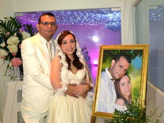 El matrimonio de Yuranis y Jorge