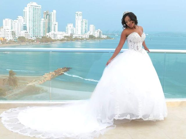 El matrimonio de Jamie y Patricia en Cartagena, Bolívar 12