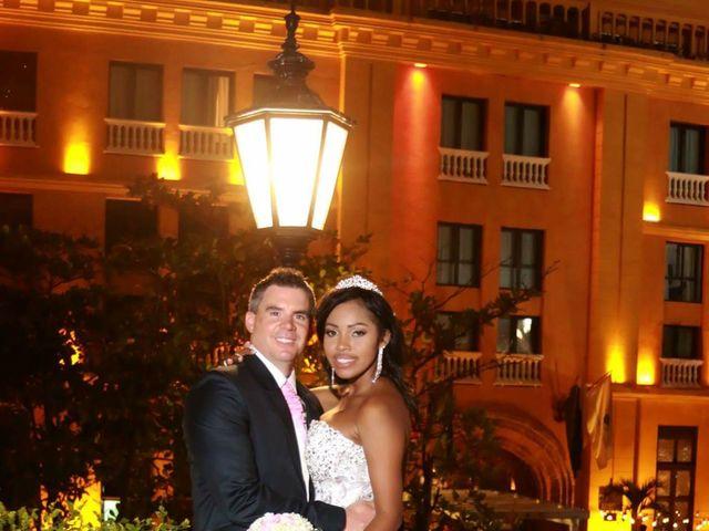 El matrimonio de Jamie y Patricia en Cartagena, Bolívar 23