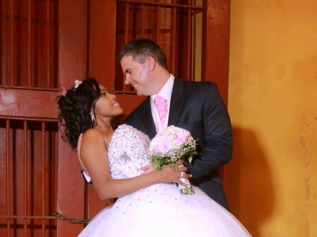 El matrimonio de Jamie y Patricia en Cartagena, Bolívar 25