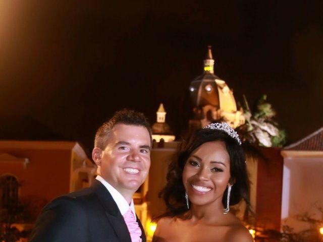 El matrimonio de Jamie y Patricia en Cartagena, Bolívar 27