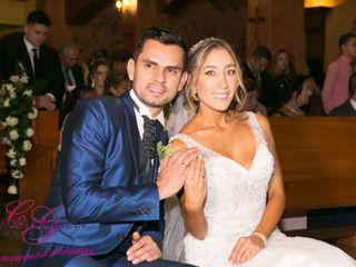 El matrimonio de Yina y Gabriel