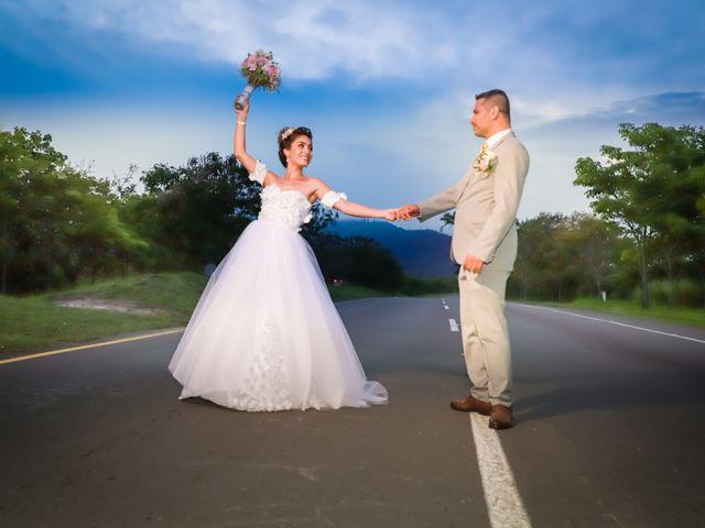 El matrimonio de Erika y Javier
