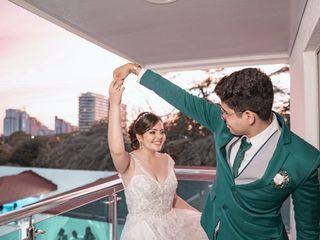 El matrimonio de Tania y Héctor