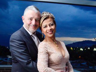 El matrimonio de Aniza y Pedro