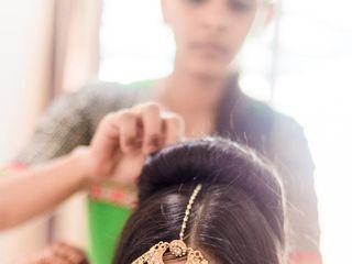 El matrimonio de Krupa y Amit 1