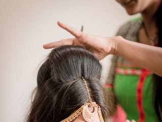 El matrimonio de Krupa y Amit 3