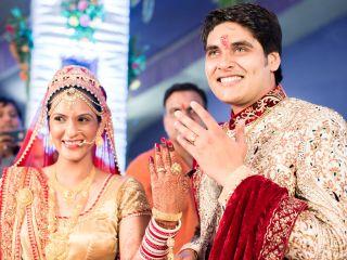 El matrimonio de Krupa y Amit