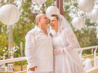 El matrimonio de Tita y Leo