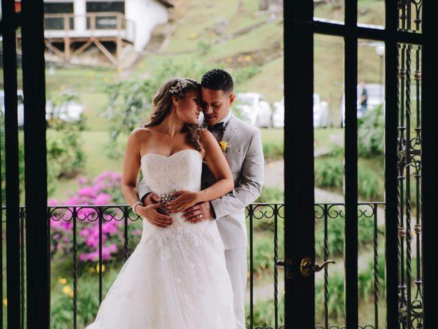 El matrimonio de Daniela y Benjamin