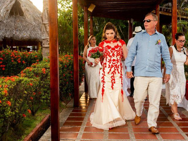El matrimonio de Richard y Olga en Cartagena, Bolívar 11