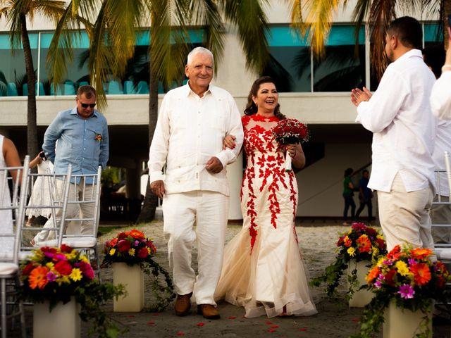 El matrimonio de Richard y Olga en Cartagena, Bolívar 17