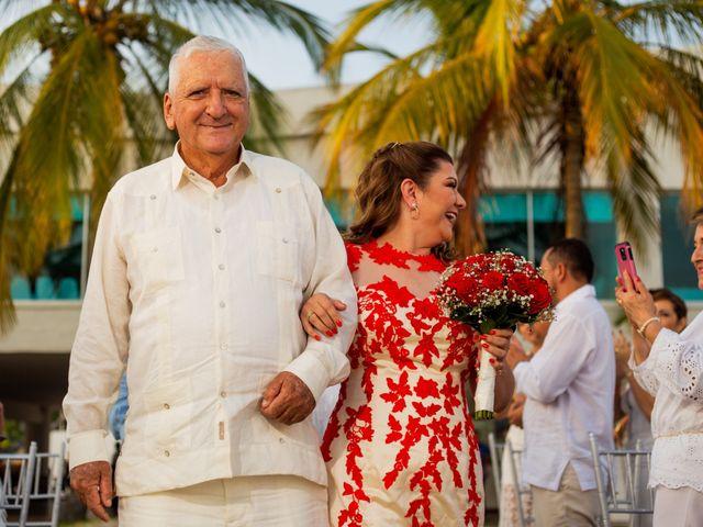 El matrimonio de Richard y Olga en Cartagena, Bolívar 18