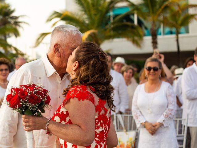 El matrimonio de Richard y Olga en Cartagena, Bolívar 19