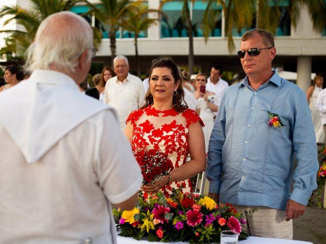 El matrimonio de Richard y Olga en Cartagena, Bolívar 21