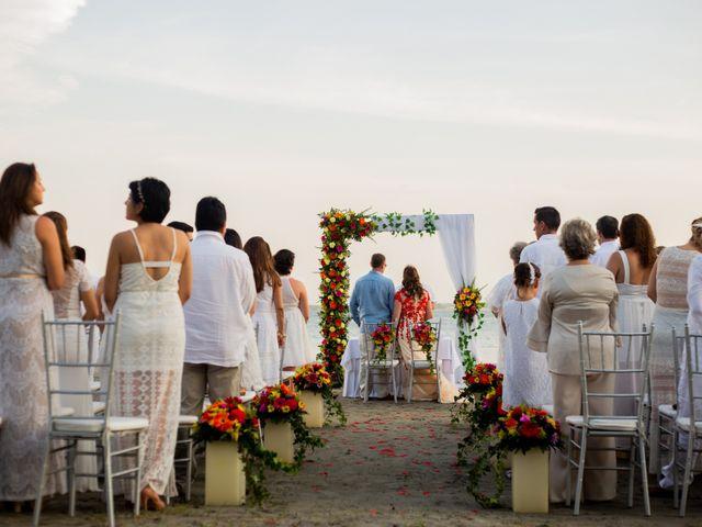 El matrimonio de Richard y Olga en Cartagena, Bolívar 24