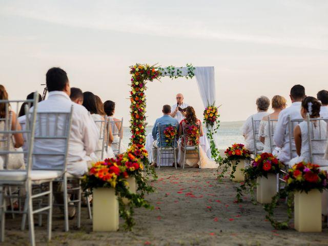 El matrimonio de Richard y Olga en Cartagena, Bolívar 25