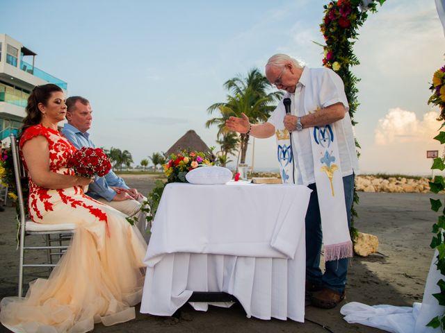 El matrimonio de Richard y Olga en Cartagena, Bolívar 29