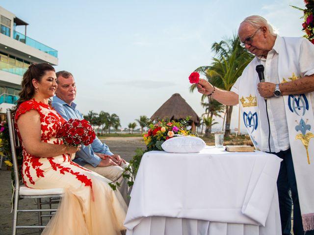 El matrimonio de Richard y Olga en Cartagena, Bolívar 30