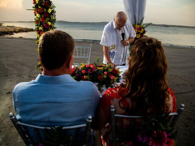 El matrimonio de Richard y Olga en Cartagena, Bolívar 31