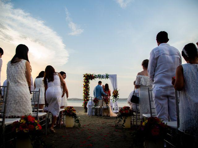 El matrimonio de Richard y Olga en Cartagena, Bolívar 35