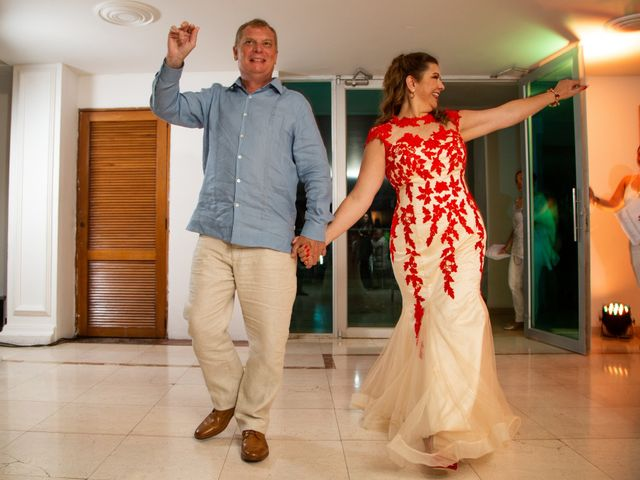 El matrimonio de Richard y Olga en Cartagena, Bolívar 44