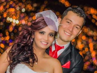 El matrimonio de Justink y Whiston