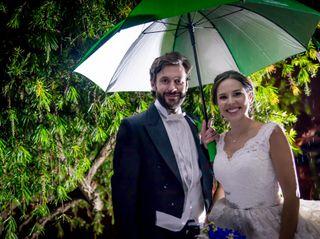 El matrimonio de Adriana y Sergio