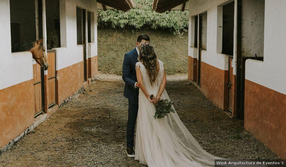 El matrimonio de Juan y Valentina en Retiro, Antioquia