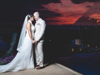 El matrimonio de Lisa y Mauricio