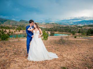 El matrimonio de Naty y Juan