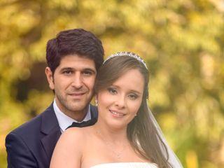 El matrimonio de Carolina y Breitner