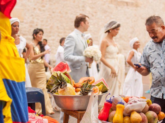 El matrimonio de Christian y Lorena en Cartagena, Bolívar 4