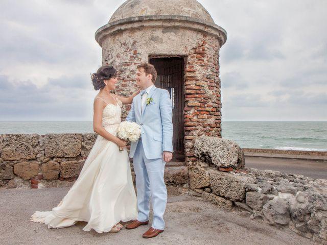 El matrimonio de Christian y Lorena en Cartagena, Bolívar 8