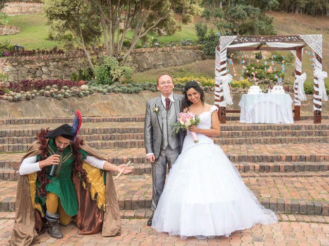 El matrimonio de Wilson y Carolina en Bogotá, Bogotá DC 39