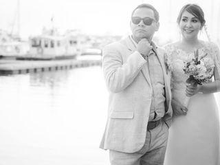 El matrimonio de Lilibeth y Mauricio